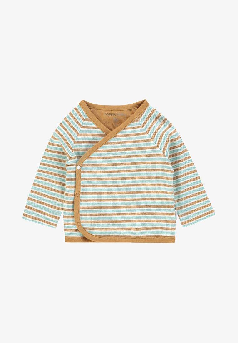 Noppies - OVERLAP PLUM BABY ZGREEN - Long sleeved top - brown