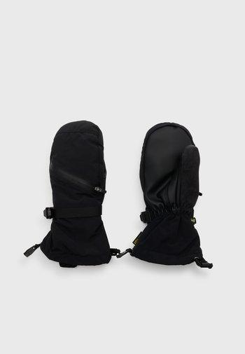VENT UNISEX - Mittens - true black