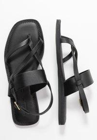 Shoe The Bear - TAO STRAP - T-bar sandals - black - 3