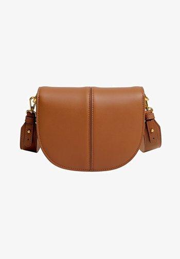 KAS - Handbag - mittelbraun
