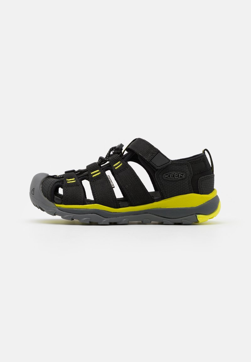 Keen - NEWPORT NEO H2 UNISEX - Walking sandals - black/evening primrose