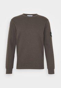 Calvin Klein Jeans - MONOGRAM BADGE TEE - Long sleeved top - aluminium grey - 3