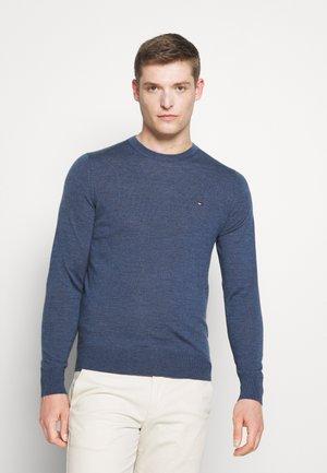 CREW NECK - Pullover - faded indigo heather