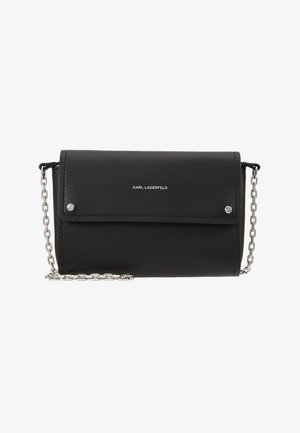 IKON POCHETTE ON CHAIN - Portefeuille - black
