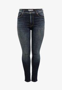 ONLY Carmakoma - SHAPE UP - Jeans Skinny Fit - dark blue denim - 4