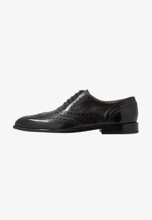 JACOB - Šněrovací boty - black