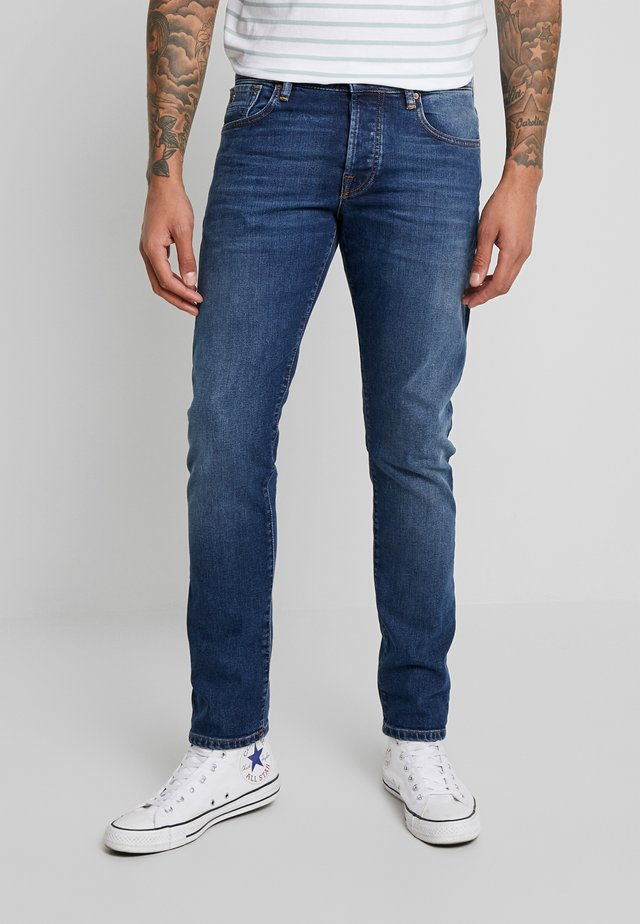 DON'T FORGET - Jeansy Slim Fit - blauw