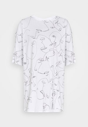 CISSI TEE  - T-shirts print - white