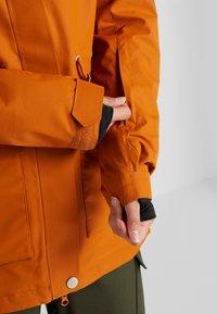Wearcolour - STATE PARKA - Snowboardjakke - orange - 3