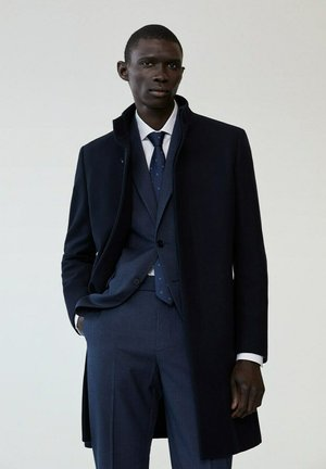 FUNNEL-I - Classic coat - dunkles marineblau