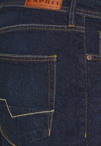 Esprit - Denim shorts - blue dark wash - 2