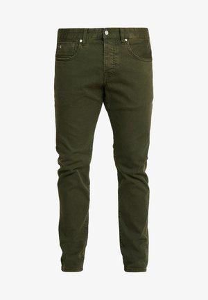 Džíny Slim Fit - military green