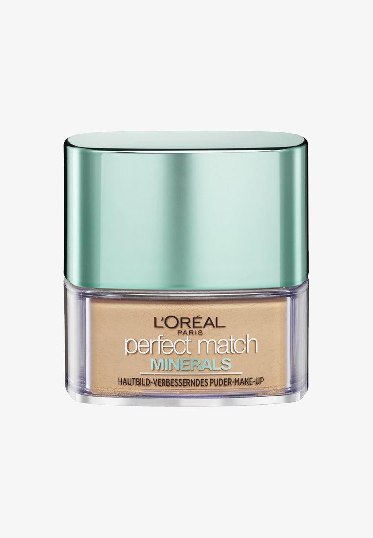 L'Oréal Paris - PERFECT MATCH MINERALS - Powder - 4d/4w naturel rose