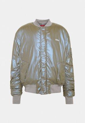 OVERSIZED JACKET UNISEX - Bomber Jacket - silver