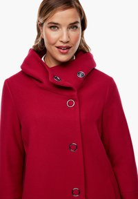 Triangle - Short coat - dark red - 4