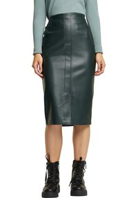 Esprit - Pencil skirt - dark green - 3