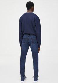 PULL&BEAR - Jeans slim fit - dark-blue denim - 2