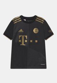adidas Performance - FC BAYERN MÜNCHEN A UNISEX - Klubové oblečení - black - 0
