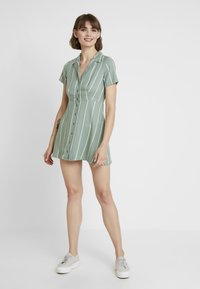 Obey Clothing - AMALFI DRESS - Shirt dress - pistachio - 2