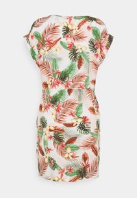 Vero Moda - VMSIMPLY EASY TIE SHORT DRESS - Day dress - birch/selma - 6