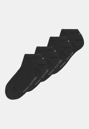 4 PACK UNISEX - Socks - black