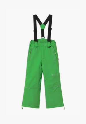KIDS HOLMENKOLLEN SNOW SLIM FIT UNISEX - Snow pants - bright green