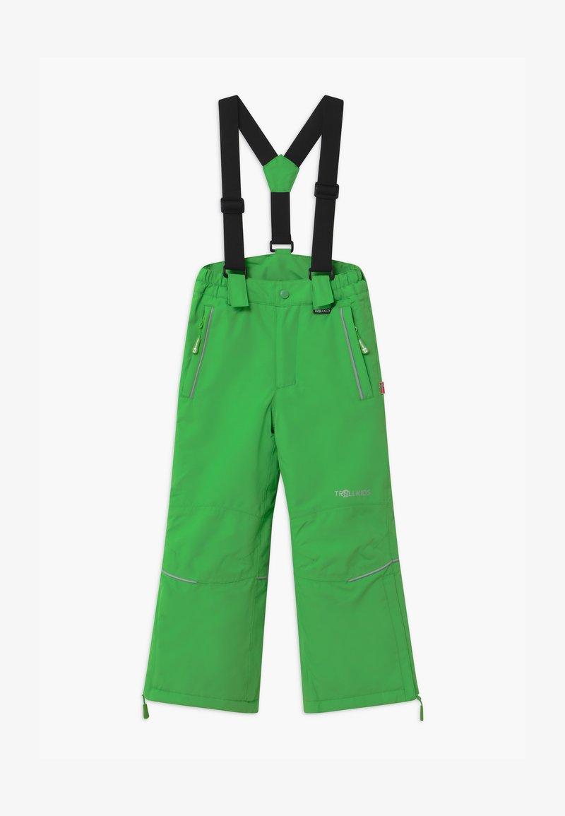 TrollKids - KIDS HOLMENKOLLEN SNOW SLIM FIT UNISEX - Snow pants - bright green