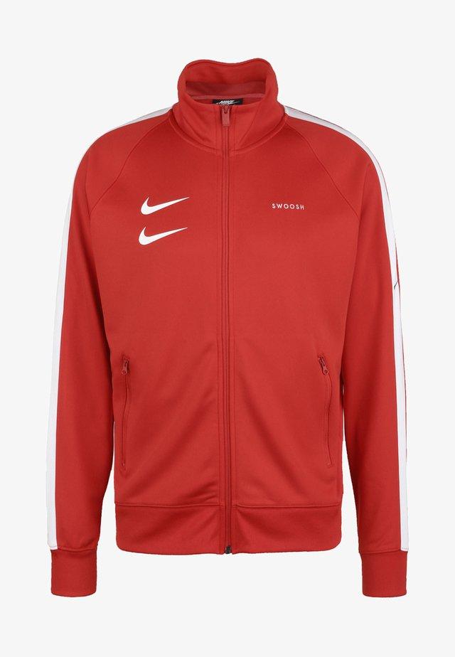 Training jacket - university red