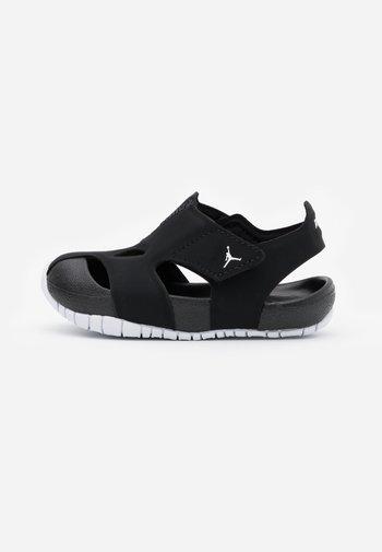 FLARE UNISEX - Basketball shoes - black/white