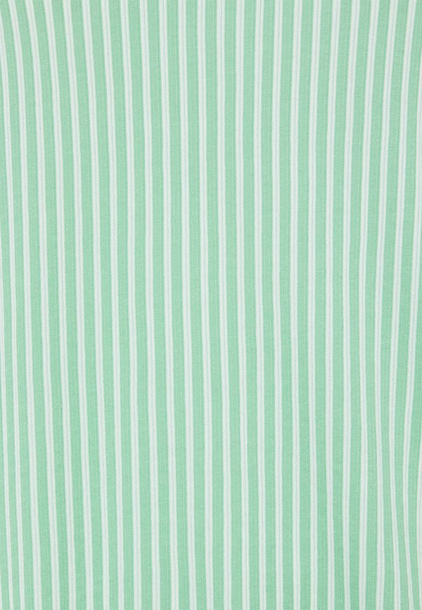 TOM TAILOR VERTICAL STRIPE - Bluzka - green/white/zielony QYVR