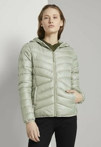 TOM TAILOR DENIM - Light jacket - light olive - 0