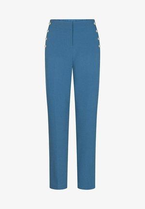 MIT NIETEN - Trousers - royal blue
