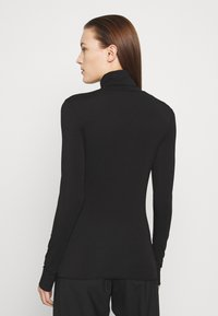 ARKET - TURTLENECK - Long sleeved top - black dark - 2