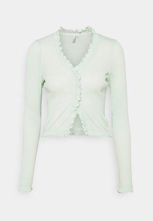 FRILL EDGE - Vest - pistachio