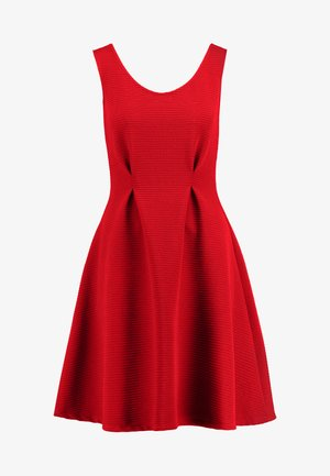 Jersey dress - red