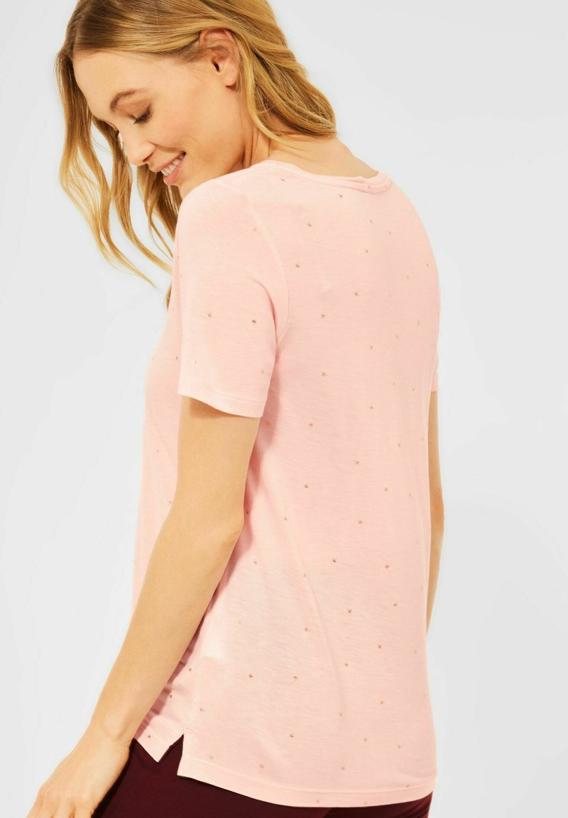 Cecil - Print T-shirt - rosa