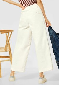 Cecil - LOOSE FIT  - Trousers - beige - 1