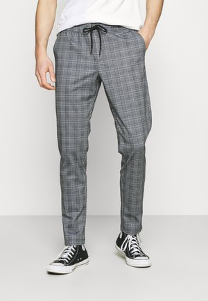 JJIWILL JJPHIL CHECK - Trousers - lavender