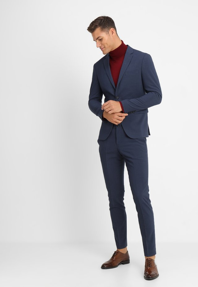 PLAIN MENS SUIT - Costume - blue melange