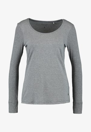 CREW NECK - Pyjamashirt - grau melange
