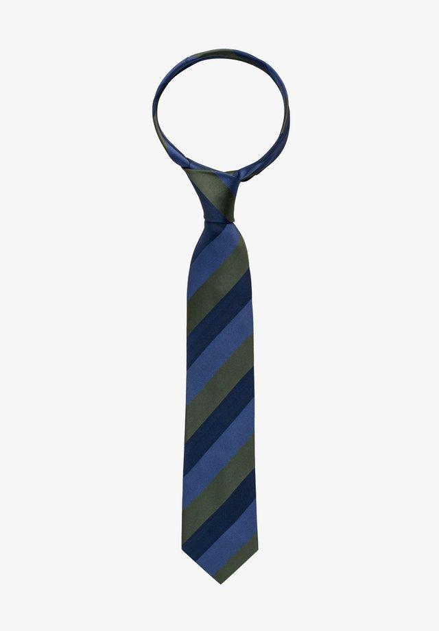 Tie - grün/blau