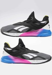 Reebok - NANO X SHOES - Sneaker low - black - 3
