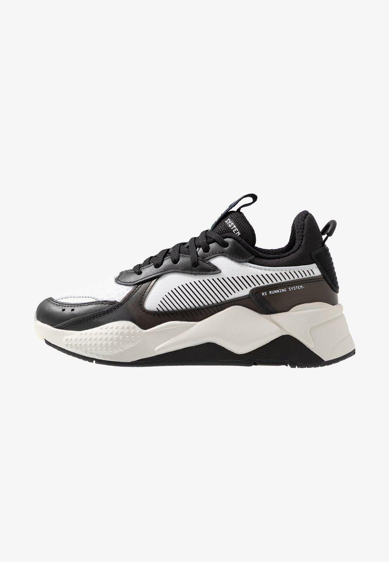 Puma - RS-X TECH - Sneakersy niskie - black/vaporous gray/white
