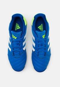 adidas Performance - TOP SALA - Indoor football boots - glory blue/footwear white/team royal blue - 3