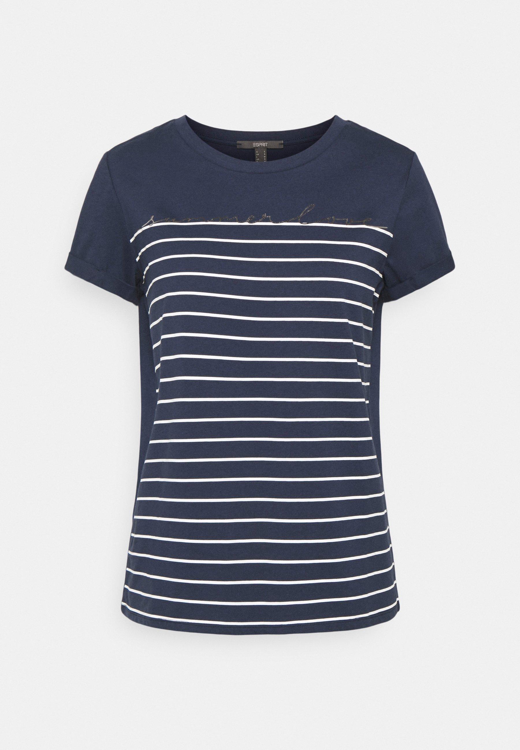 Women LOVE STRIPE  - Print T-shirt