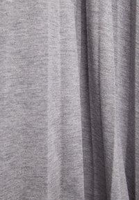 Bershka - A-line skirt - light grey - 5