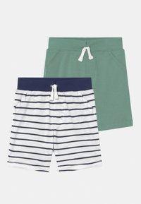 Carter's - 2 PACK - Shorts - dark blue/green - 0