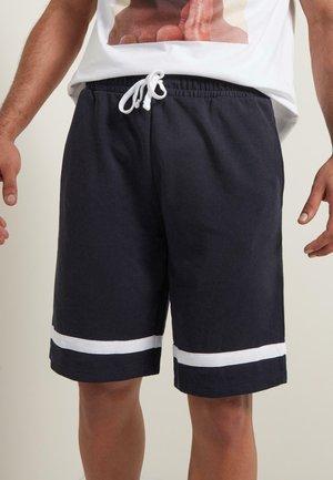 MIT STREIFEN - Shorts - - - sky blue/white