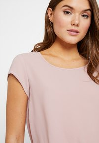 ONLY - ONLVIC SOLID  - T-shirts med print - pale mauve - 3