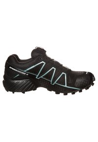 Salomon - SPEEDCROSS 4 GTX - Trail running shoes - black/metallic bubble blue - 3